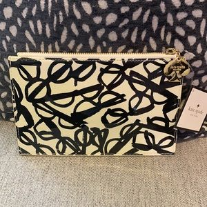 Kate Spade Literary Glasses Pencil Pouch